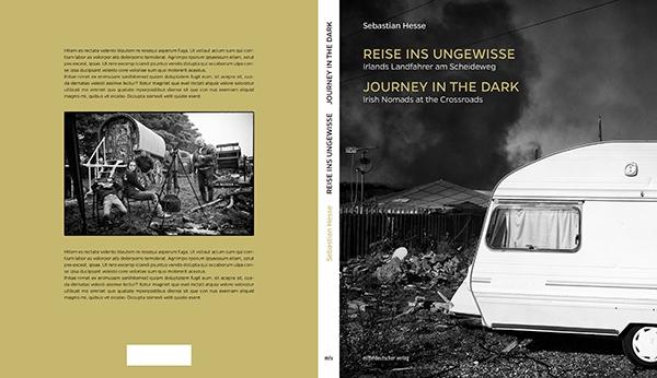 "Book cover ""Journey in the Dark"" by Sebastian Hesse"