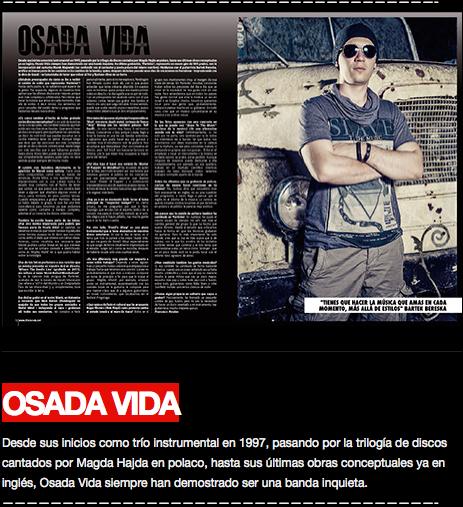 Osada Vida tearsheet The Star Magazine