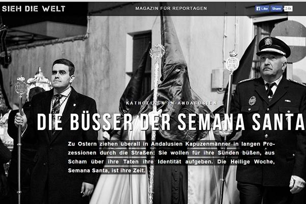 Sebastian Hesse  July 2015 Sieh Die Welt, online magazine, Germany