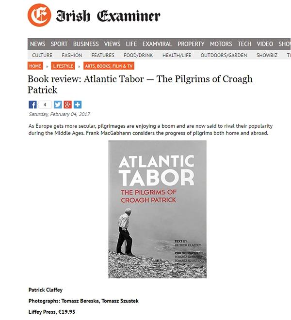 Uspecto tear sheet Irish Examiner