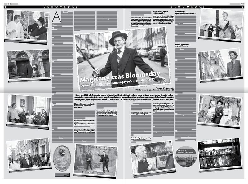 Bloomsday reportage