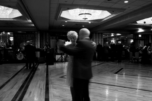 Couple dancing at the Co Mayo Dinner dance