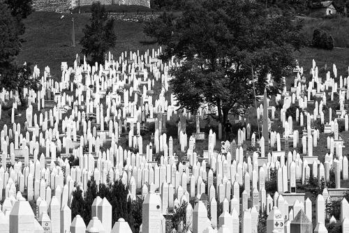 Muslim cemetery, Sarajevo