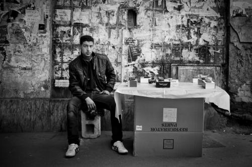 Tarek, mobile phone seller