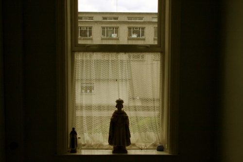 Window in the convent building