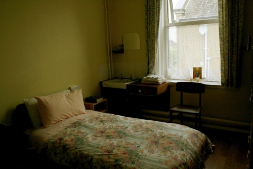 Sisters of Mercy convent bedroom