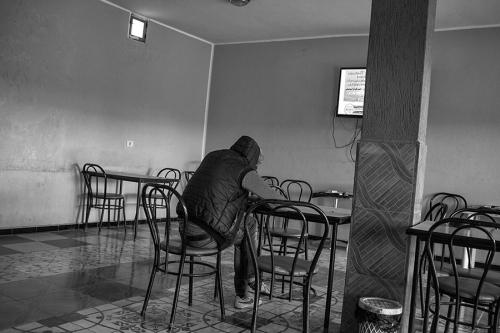 20. Local café, Sidi Aid, north of Regueb