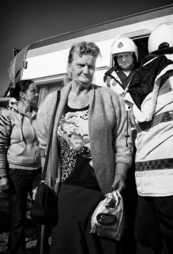 Dale farm eviction, England