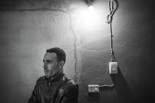 portrait of young Tunisian man