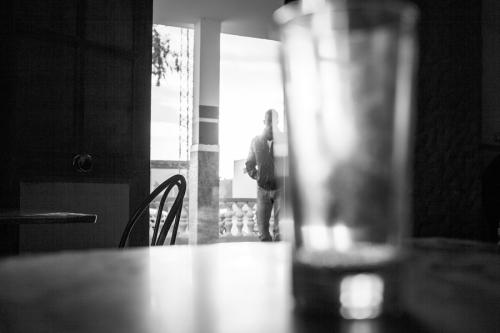 34. Local café, Farch Egrib, south of Regueb
