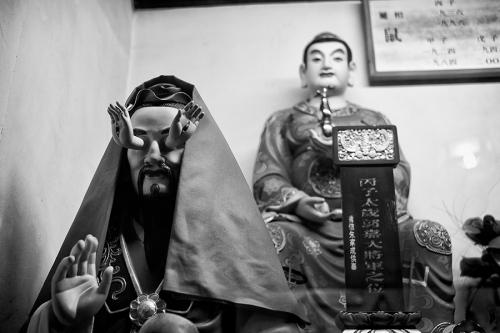 China religious statue
