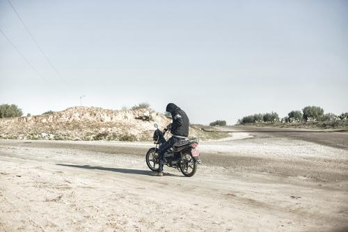 7. Countryside road, central Tunisia