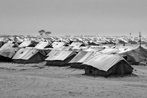 Choucha/Shousha refugee camp, general view