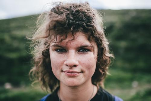 Portrait of the female Croagh Patrick pilgrim, Ireland