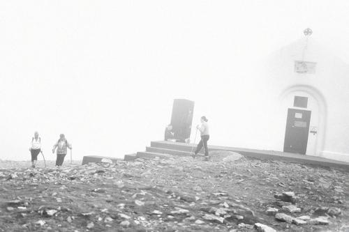 Croagh Patrick pilgrims