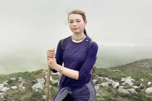 Niamh, Croagh Patrick pilgrim