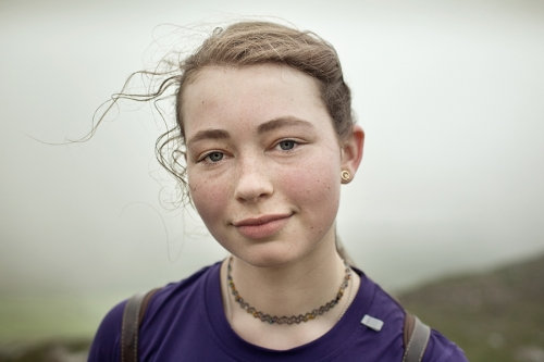 Niamh, Croagh Patrick pilgrim portrait