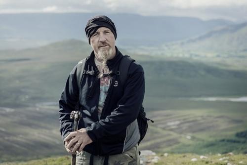Johnny, Croagh Patrick pilgrim portrait