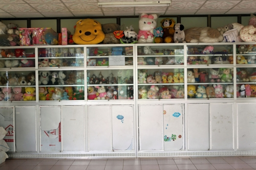 Toys donated to the Happy Haven project. Yangon, Myanmar