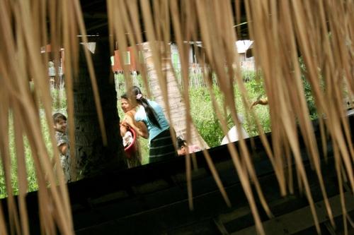 Women in Mandalay, Myanmar