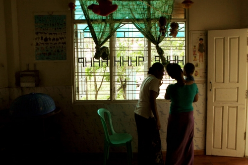 The Happy Haven Humanitarian center. Yangon, Myanmar