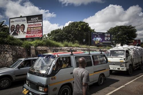 Religious billboard