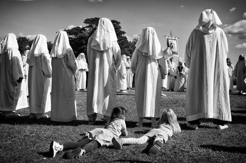 Neopagans gathering in the UK