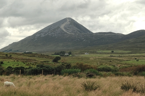 Croagh Patrick, general view from the south
