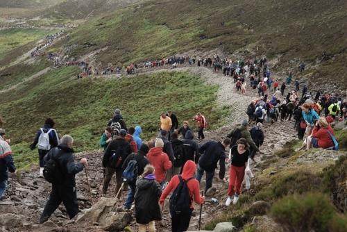 Croagh Patrick pilgrimage