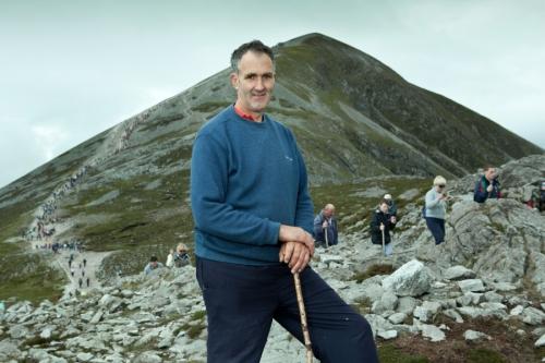 Portrait of the Croagh Patrick pilgrim