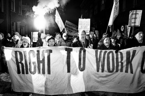 Anti-government demonstration, Dublin