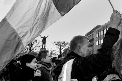Anti-government-demonstration, Dublin
