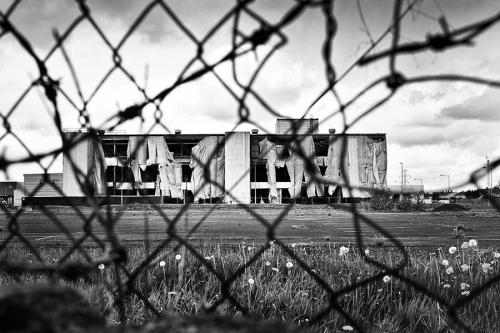 Unused factory, Dublin