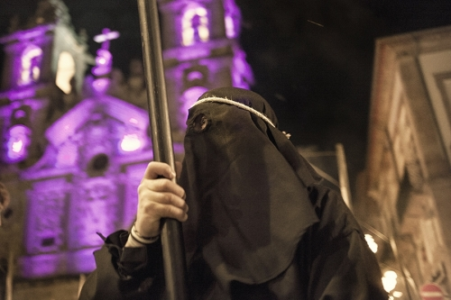Farricocos during Semana Santa, Braga, Portugal