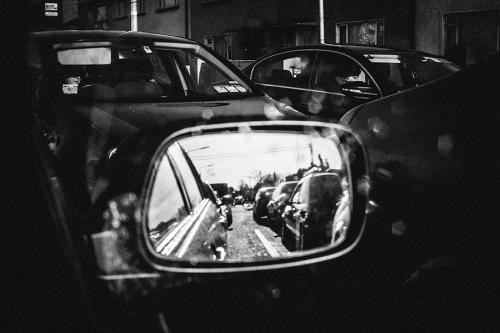 7. Busy traffic in Dublin