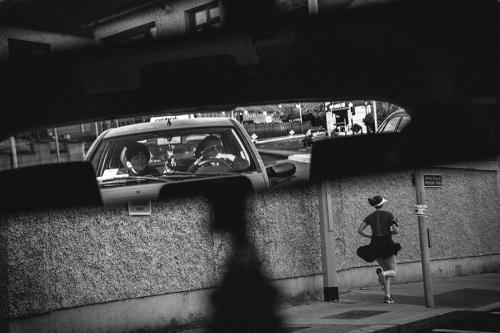 8. Busy traffic in Dublin