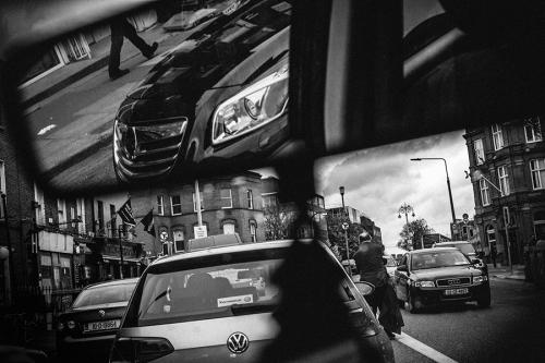 17. Busy traffic in Dublin