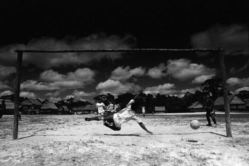 023. Matses play soccer